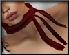 Blood Red Ribbons Hanky