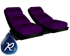 {R} Purple Dbl Chaise