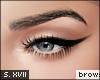 s. brows KD | black