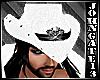 Cowboy Skull White Hat