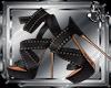[S] Cross Sandal Heels