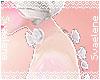 Rose Choker |White
