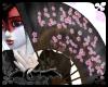 Blk Sakura Fan Dance