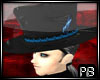 {PB}Black+Blue Top Hat