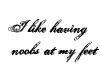 I like having noobs