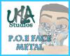 P.O.E. Face Metal
