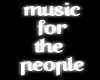 Music for... |Neon Sign