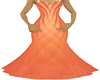 [PA]Peach Sparkle Gown