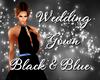 [EPH] Gown Black&Blue