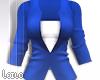! L! Blue White Jacket