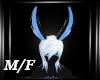 Black Blue Bunny EarsM/F