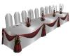 Nev's Wedding head table