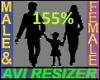 155% Tall