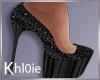K Nye black heels