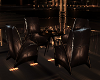 Dark gold table