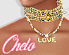 ●C●  Gold Necklace