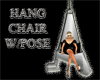 (IKY2) HANG CHAIR W/POSE
