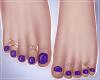 -S- Perfect Purple ToesG