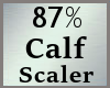 87% Calves Calf Scale MA
