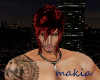 *makia* Krish Goth Red