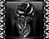 GG™ Black Rose Sticker