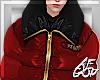 """Ⱥ"""" Red Black Coat"""