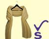 VS- Acrylic Shawl Gold