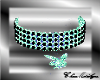 Play Boy Necklace Teal