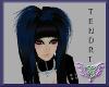 {CRh} TENDRI Black/Blue