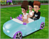 Kids 3 Person Toy Car