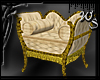 Cream & Gold Roman Chair