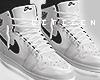 Air Jordan I - white M