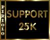 Support Sticker 25K