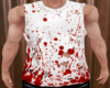 Blood stained Top