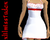 Red n White Angel Dress