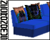 Peacock Couch