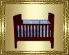 VG~Baby Crib Blue Inside
