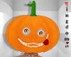 Pumpkin hallowen head