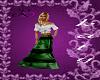 ~K~green gipsy skirt