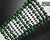 -P- Green Pearl Cuff L