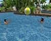 ballon plage animated x5