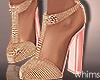 Pinky Gold Heels