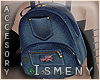 [Is] Denim Backpack F