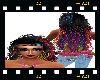 hippie rainbow hair