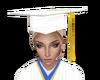 White Grad Cap