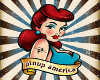 (1M) Pinup America retro