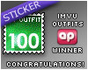 IMVU APDOC Top 100 Award