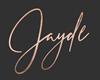 Jayde Rose Gold Sign