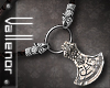 -V- Viking Axe Necklace