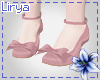 Pink Roses Shoes